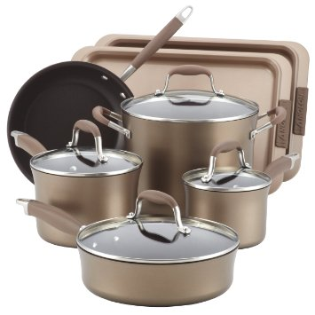 top anolon pots and pans set