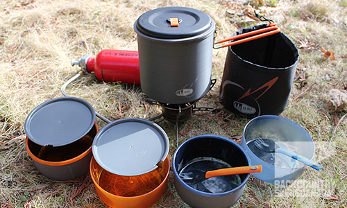 best camping cookware set