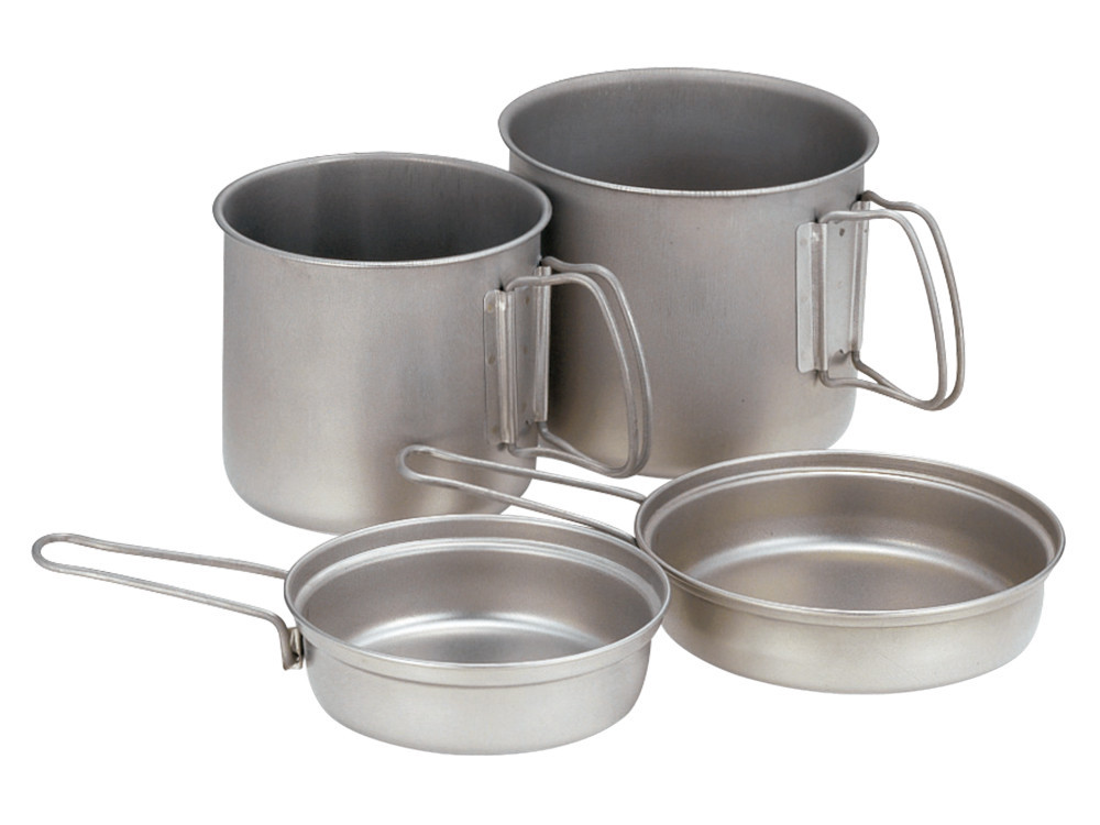 top stainless steel camping cookware