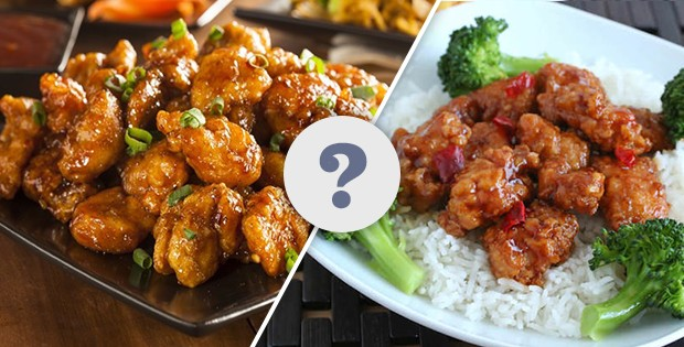 Sesame Chicken vs General Tso