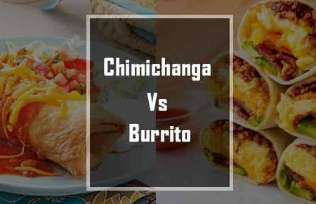 what is the difference between a Burrito and a Chimichanga